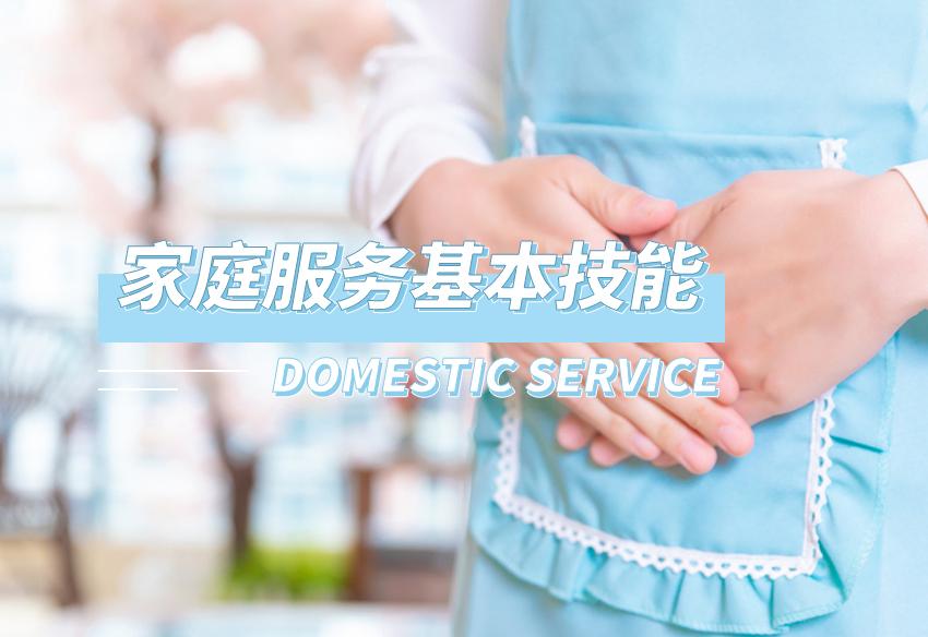 家庭服务基本技能